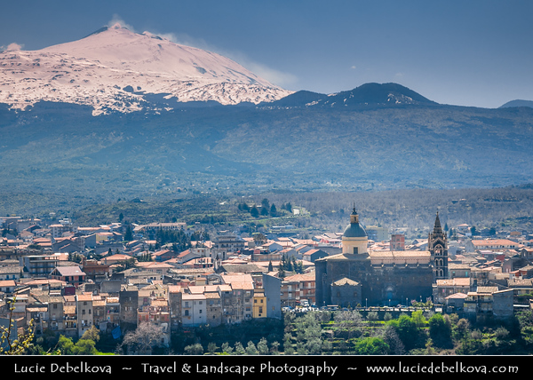 Italy - Italia - Sicily - Sicilia - Province of Catania - Randazzo - Small town situated at the northern foot of Mount Etna, nearest town to the summit of Etna