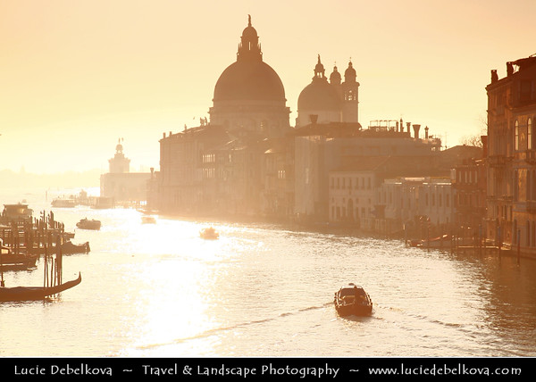 Europe - Italy - Italia - Veneto - Venice - Venezia - UNESCO World Heritage Site - Basilica di Santa Maria della Salute - The Basilica of St Mary of Health