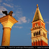Europe - Italy - Italia - Veneto - Venice - Venezia - UNESCO World Heritage Site - Piazza San Marco - St. Mark's Square
