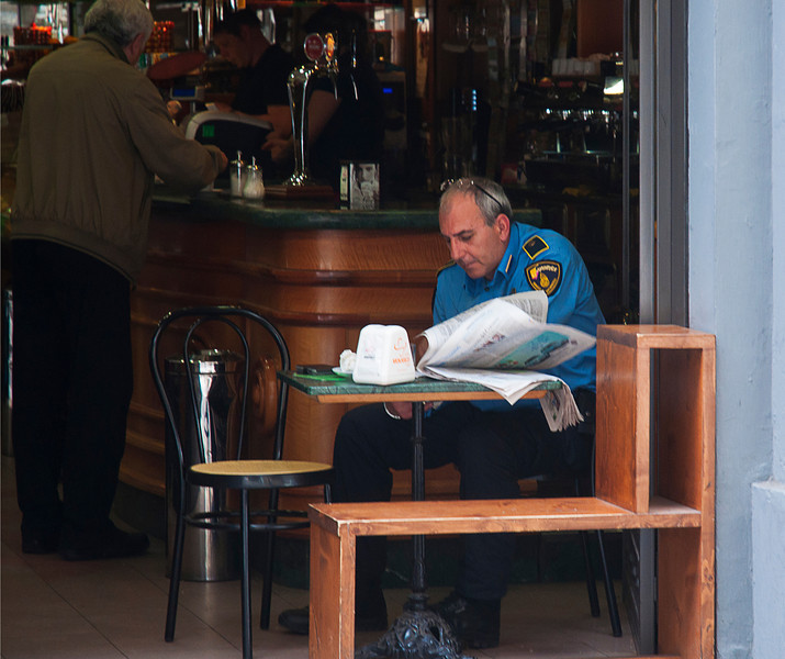 Coffee -- excuse me, espresso -- break; or maybe it is a caffe coretto as I learned from Italian Police Commissioner Aurelio Zen, Michael Dibdin's wonderful Venetian invention.