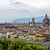 Looking over Firenze (Florence)