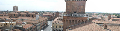 Another panorama of Ferrara, Italy