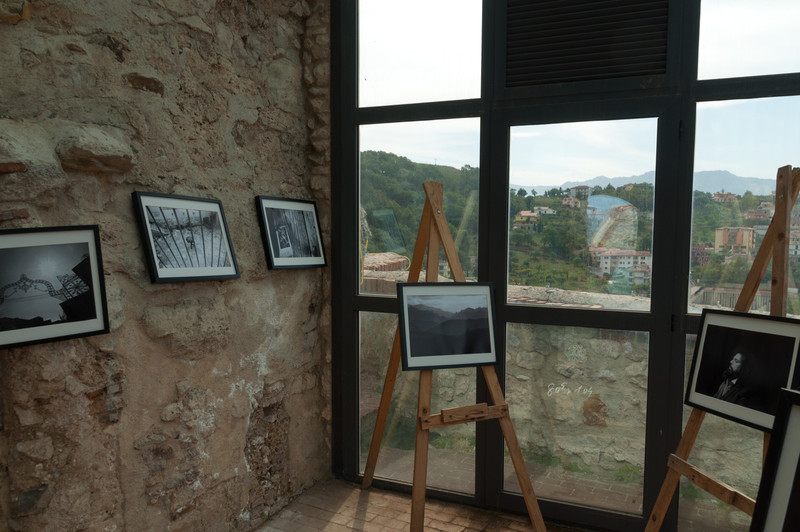 The castle was converted into a local museum and gallery in  Oliveto Citra, Italy