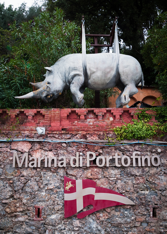 The Park Museum's  International Sculpture Centre at Il Faro (the Lighthouse) in Portofino, Italy