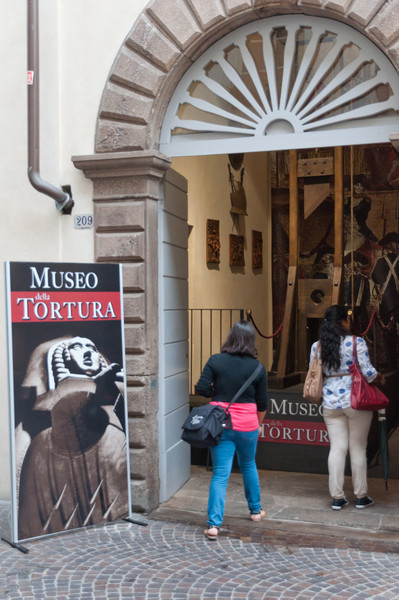 Torture Museum was in several towns not just Lucca, Tuscany, Italy