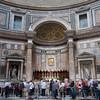 entering the Pantheon