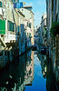 "A side canal in Venice; the Italian writer Luigi Barzini called Venice ""undoubtedly the most beautiful city ever built by man"" raising the issue in my mind of what other types of cities he was considering."