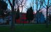 Burano town house sunset