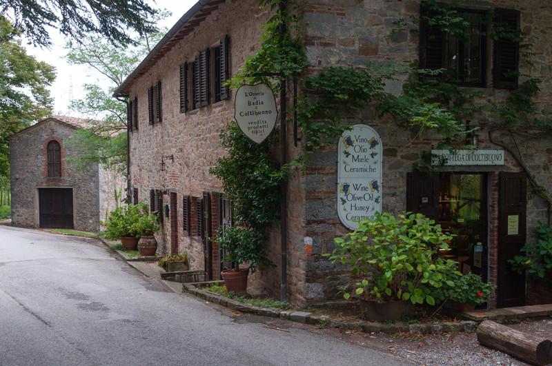 Badia a Coltibuolo in  Chianti, Italy