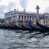 Gondola ride in Venice/Venezia - by Piazza San Marco