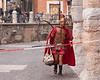 Gladiator arriving for work