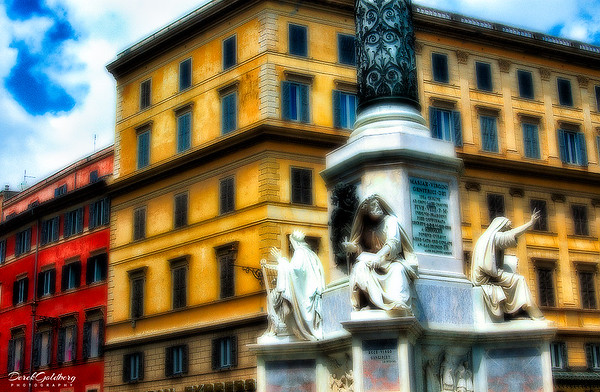 Street Scene #3, Rome, Italy