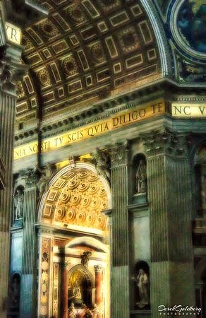 St. Peter Basilica #3, Vatican City, Rome, Italy