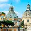 Rome Scenic #2, S. Maria di Loreto and SS. Nome di Maria Domes, Italy