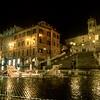 Barcaccia Fountain, Spanish Steps (Piazza di Spagna), Rome - Italy