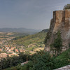 Lower Orvieto from the upper city