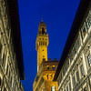 The Palazzo Vecchio, a Tuscan Gothic fortress-palacethe overlooking the Piazza della Signoria, is the town hall of Florence, Italy.