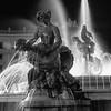 Fontana delle Naiadi in Piazza della Repubblica , Rome, Italy.