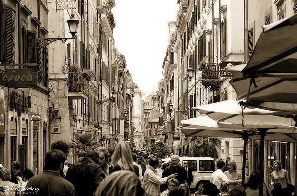 Street Scene #6a, Rome, Italy
