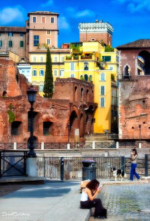 Street Scene #11, Rome, Italy