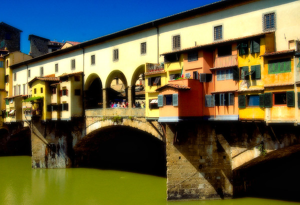 The Ponte Vecchio #1, Arno River, Florence, Italy