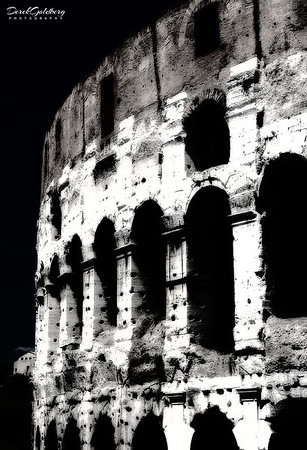 Colosseum #2a, Rome, Italy