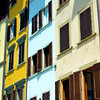Colorful Bldg Facade #1, Florence, Italy
