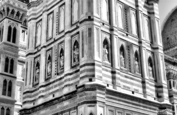 Cathedral of Florence Tower#5a, Florence, Italy