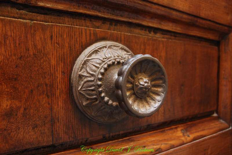 Beautiful door knob, Florence, Italy