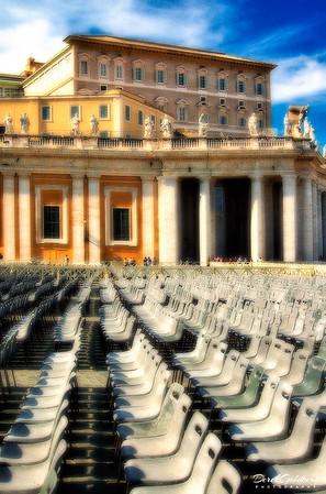 Vatican Exterior #3, Rome, Italy