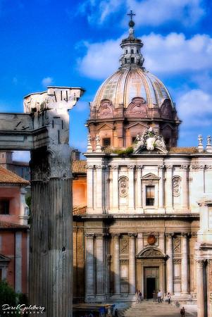 Santi Luca e Martina Church #1, Rome, Italy