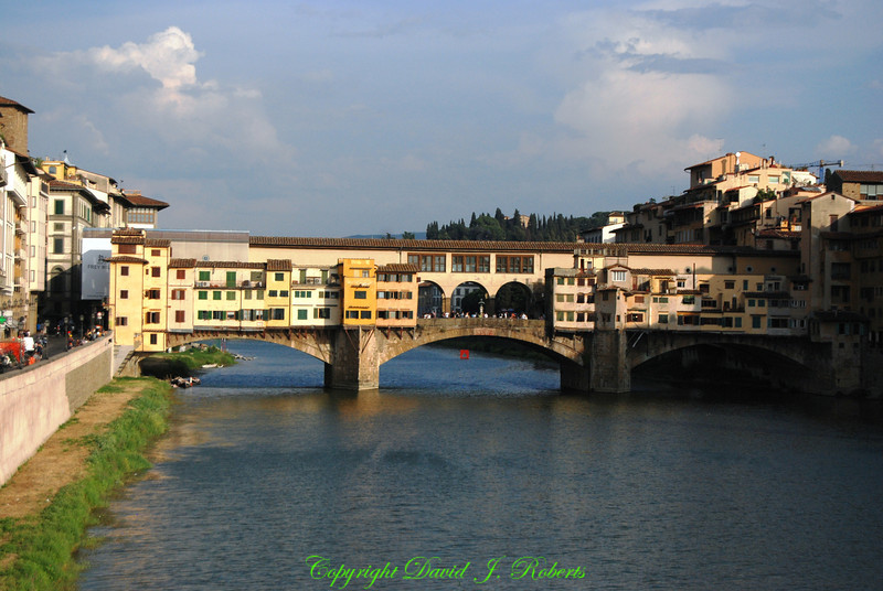 Arno River and Ponte Vecchio, Florence, Italy