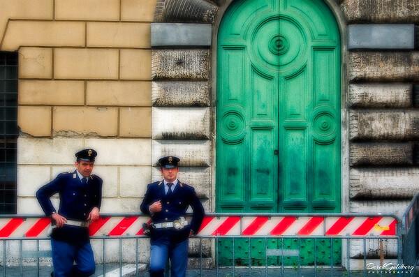Street Scene #2, Rome, Italy