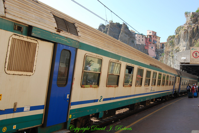 Manarola Train Station, Cinque Terre, Italy