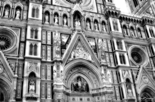 Cathedral of Florence Tower#3a, Florence, Italy