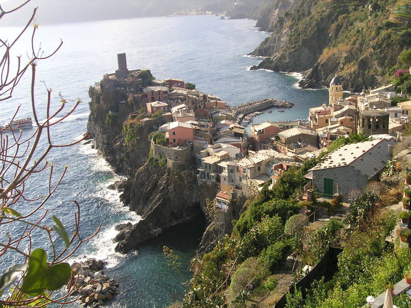 Above Vernazza, Cinque Terre