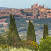 Orvieto from mountain road