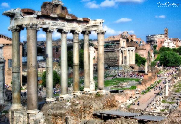 Street Scene #17, Rome, Italy