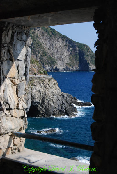 View of the sea, Via del Amore, Cinque Terre, Italy