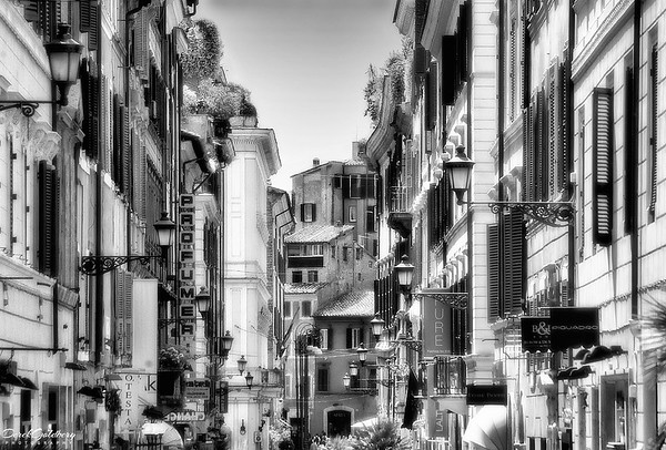 Street Scene #9, Rome, Italy