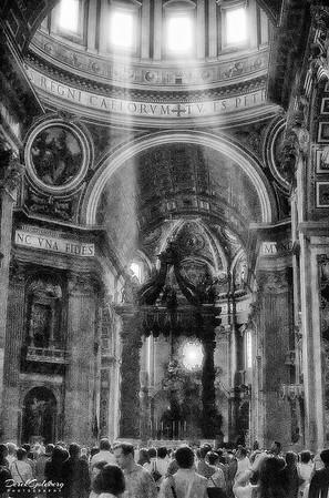 St. Peter Basilica #2a, Vatican City, Rome, Italy