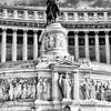 Equestrian Statue at Altare della Patria #1a, Rome, Italy