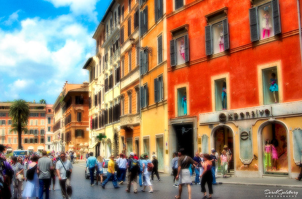 Street Scene #1, Rome, Italy