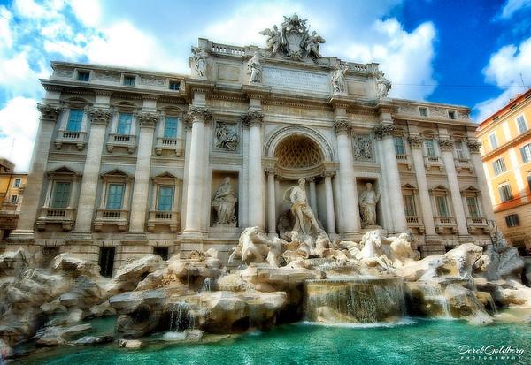 Trevi Fountain #1, Rome, Italy