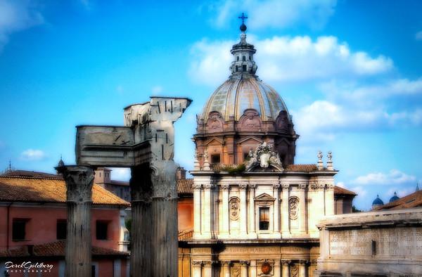 Street Scene #18, Rome, Italy