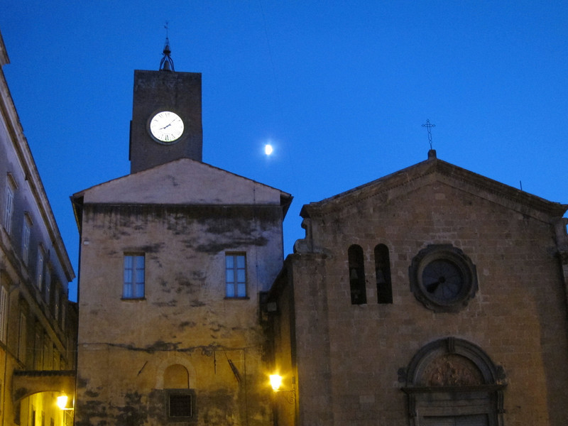 Orvieto clock tower