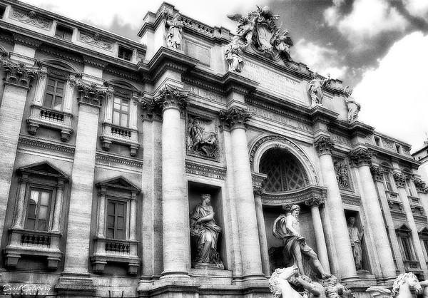 Trevi Fountain #3a, Rome, Italy