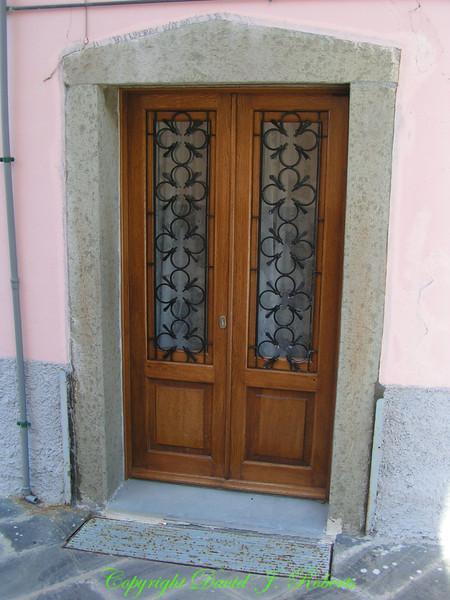 Doorway, Cinque Terre, Italy