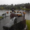 "statue of ""King Puck""  in Killarney"
