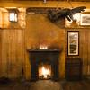 Courtney's Bar, turfburning fireplace